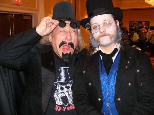 Son of Ghoul with Dayton's Baron Von Porkchop. Photo used with permission.